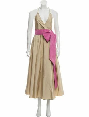 No. 21 X Kartell Sleeveless Maxi Dress w/ Tags Tan