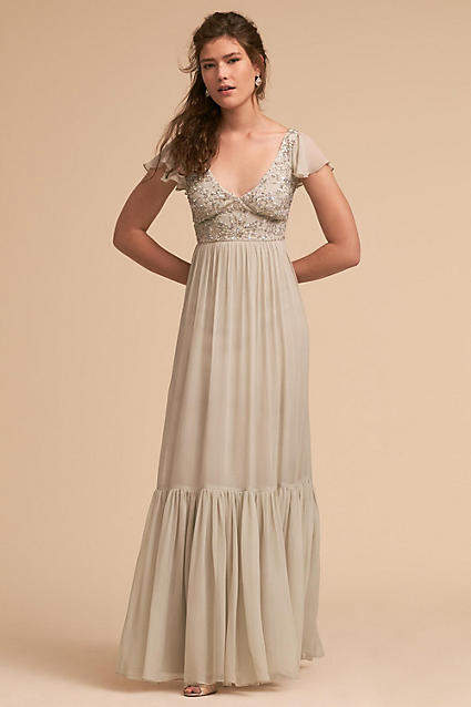 Anthropologie Daphne Wedding Guest Dress