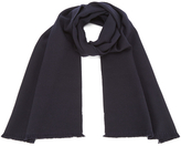 Paul Smith Men's Panelled Weave Scarf Navy
