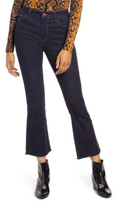 DL1961 Bridget Instasculpt High Waist Crop Bootcut Jeans