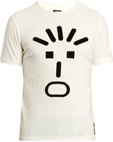 Fendi Faces-print crew-neck T-shirt