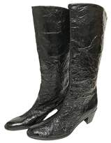 Helmut Lang Patent leather boots