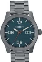 Nixon Corporal Watch Gunmetal/dark Blue