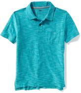 Old Navy Slub-Knit Pocket Polo for Boys
