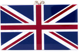 Charlotte Olympia English flag clutch - women - Acetate - One Size