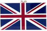 Charlotte Olympia English flag clutch