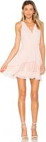 BCBGeneration Surplice Ruffle Dress