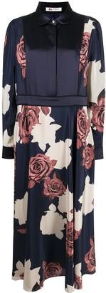 Ports 1961 Floral Silk Dress