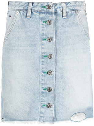 Tommy Jeans High-Waisted Denim Skirt