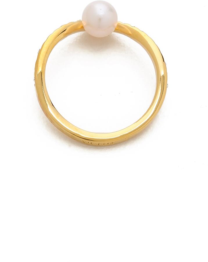 Vita Fede Ultra Mini V Crystal Ring