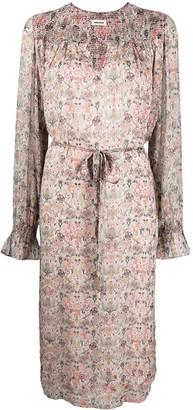 Zadig & Voltaire Raya mini Kaleido robe dress