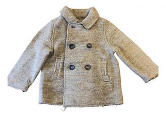 Babe & Tess Green Wool Jackets & Coats