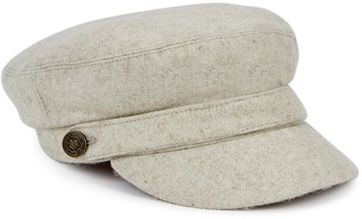 Christys London Christys' London Bretton Light Grey Wool Cap