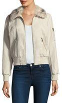 Tart Svetlana Faux-Fur Collar Jacket