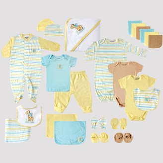 Luvable Friends Baby 24pc Gift Cube Bodysuit - Yellow/Blue/Green 0-6M