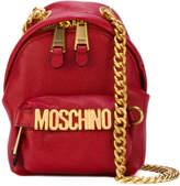 Moschino backpack chain shoulder bag
