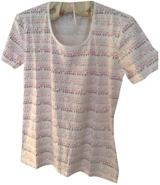 Escada Pink Cotton Top for Women