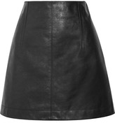 Chloé Leather Mini Skirt - Black