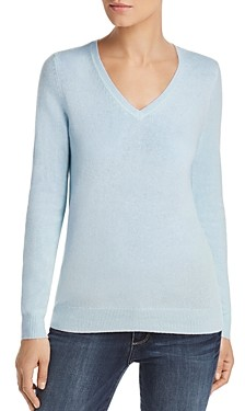 Bloomingdale's C By C by V-Neck Cashmere Sweater - 100% Exclusive