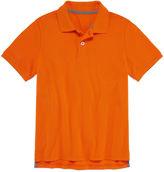 Arizona Short Sleeve Solid Cotton Polo Shirt - Big Kid