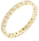Ila Tasmin 18K Yellow Gold & 0.44 Total Ct. Diamond Eternity Band Ring