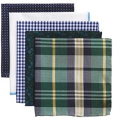 The Tie Bar Men's Trendy Green 5-Pack Pocket Squares