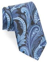 Ermenegildo Zegna Men's Paisley Floral Silk Tie