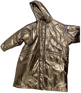 Golden Goose Silver Polyester Coats