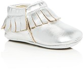 Old Soles Girls' Metallic Fringe Booties - Baby, Walker