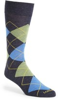 Lorenzo Uomo Men's 'Traditional Argyle' Socks