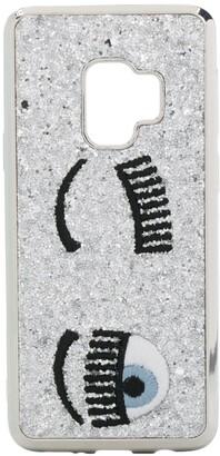 Chiara Ferragni Kids sequined Samsung S9 case