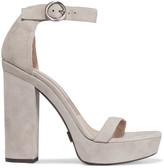 Michael Kors Adelina suede platform sandals