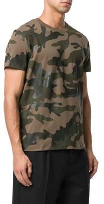 Valentino Men's Green Cotton T-shirt.