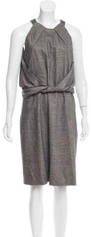 Gucci Sleeveless Wool Dress