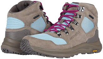 Merrell Ontario 85 Mid Waterproof (Brindle/Canal Mesh) Women's Shoes