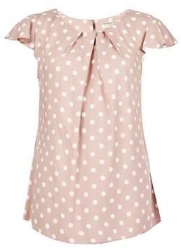 Dorothy Perkins Womens **Billie & Blossom Rose Spot Print Shell Top