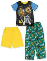 Star Wars Lego Little Boys' 3-Piece Pajamas