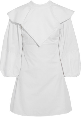 Ellery O'dell Layered Cotton-poplin Mini Dress