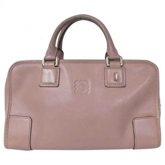 Loewe Amazona Pink Leather Handbags