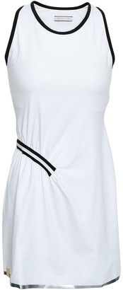 Monreal London Striped Stretch-knit Tennis Dress