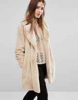 Vero Moda Premium Faux Fur Coat