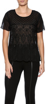 Molly Bracken Beaded Top