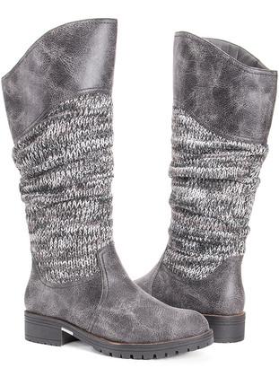 Muk Luks Women's Casual boots GREY - Gray Kailee Boot - Women