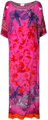 Camilla Tropic of Neon kaftan dress
