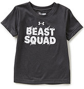 Under Armour Little Boys 2T-7 Beast Squad Short-Sleeve Tee