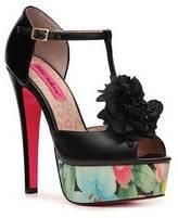 Betsey Johnson Ruby Platform Sandal