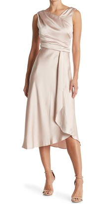 Taylor Asymmetrical Neck Dress