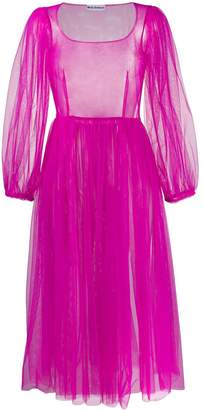 Molly Goddard Bronwyn tulle midi-dress