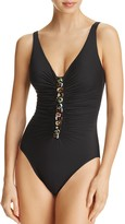 Miraclesuit Stone Jewelbox One Piece Swimsuit