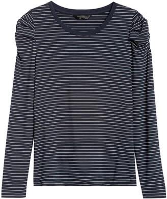 Banana Republic Petite Threadsoft Puff-Sleeve T-Shirt